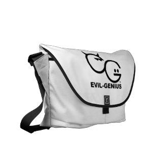 Evil Genius Messenger Bag (white)