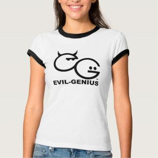 Evil-Genius Ringer Tee