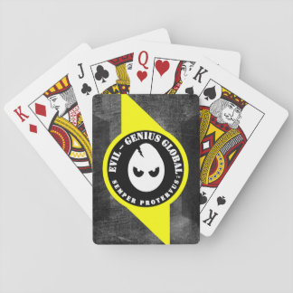 Evil-Genius Standard Playing Cards