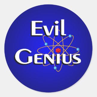 Evil Genius Stickers