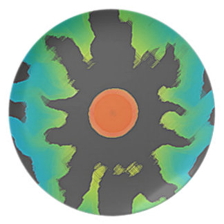 Evil Glowing Eye Plate