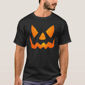 Evil Glowing Jackolantern Face T-Shirt