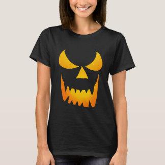 Evil Glowing Jackolantern Face T-Shirt
