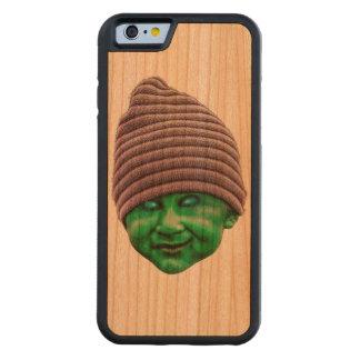 Evil Golbin Carved Cherry iPhone 6 Bumper Case