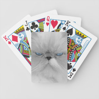 Evil Grandfather of Grumpy Cat Poker Deck