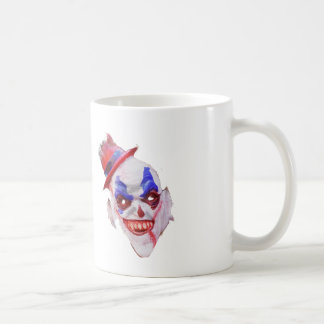 Evil Halloween Clown Face Coffee Mug