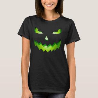 Evil Halloween pumpkin women's costume T-Shirt