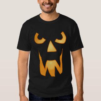 Evil Jack O Lantern Face Shirt