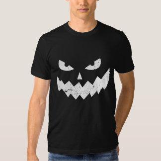 Evil Jack-o'-lantern faces - distressed Shirt