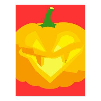 Evil Jack-O-'Lantern Post Cards