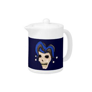 Evil Jester Skull