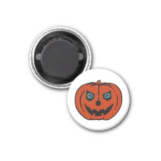 EVIL LANTERN (Halloween Jack-O-Lantern) ~ 1 Inch Round Magnet