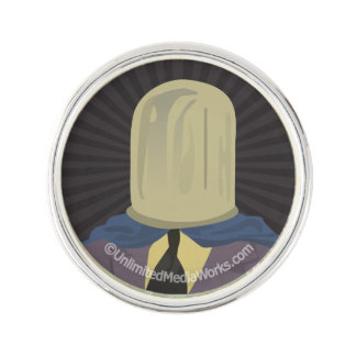 Evil Mastermind Crystal Lapel Pin
