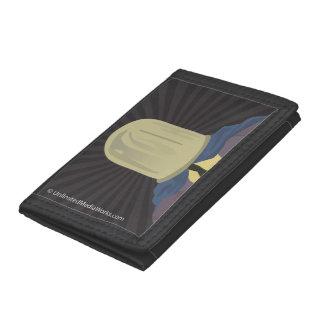 Evil Mastermind Crystal Tri-fold Wallet