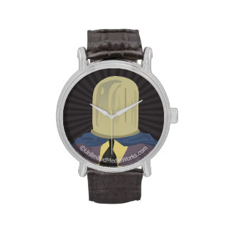Evil Mastermind Crystal Wrist Watches
