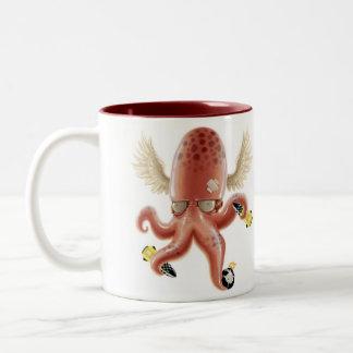 Evil Mind Two-Tone Coffee Mug