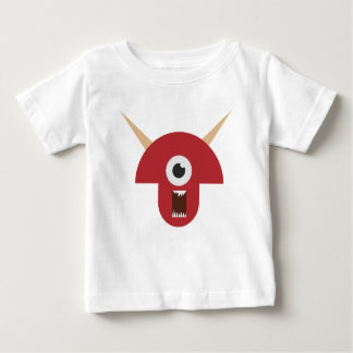 Evil Monster Head Baby T-Shirt