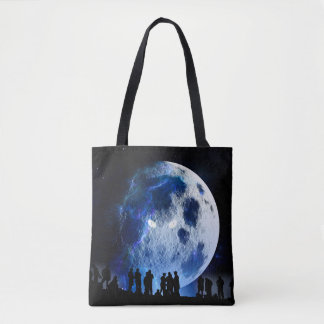 Evil Moon Tote Bag