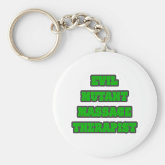 Evil Mutant Massage Therapist Key Chains