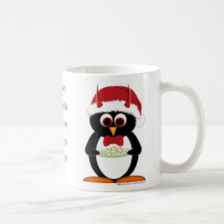 Evil Penguin Christmas Mug