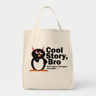 Evil Penguin™ Cool Story Bro!
