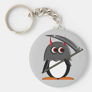Evil Penguin™ Cute Executioner Key Chain