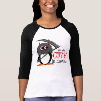 Evil Penguin™ Cute Executioner shirt