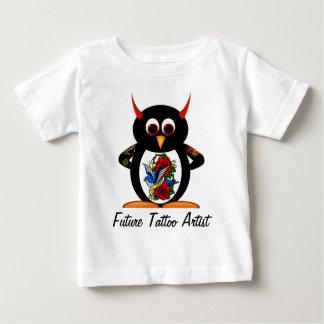 Evil Penguin Future Tattoo Artist T-shirt
