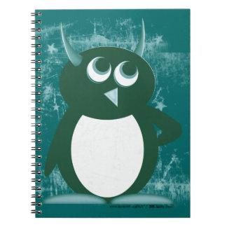 Evil Penguin™ Spiral Notebook