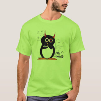 Evil Penguin Who Pooted? T-Shirt
