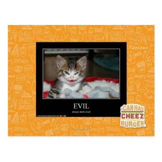 Evil Postcard