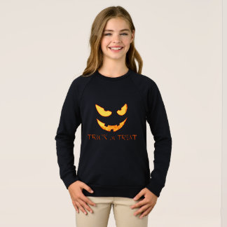 Evil Pumpkin Face Halloween Shirt