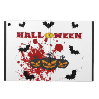 Evil pumpkin Halloween Ipad case
