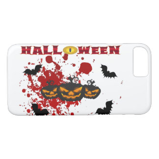 Evil pumpkin Halloween Iphone 8/7 case