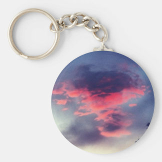 Evil Red Cloud Keychain