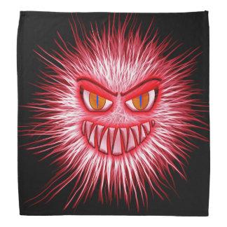Evil Red Splatter Monster Head Kerchief