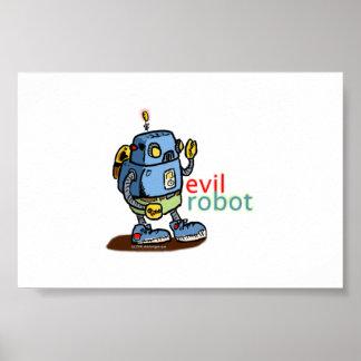 Evil Robot Poster