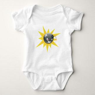 Evil Round Bomb 2 Baby Bodysuit