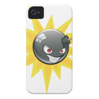 Evil Round Bomb 2 iPhone 4 Cases