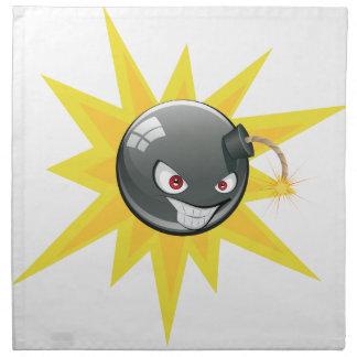 Evil Round Bomb 2 Napkin