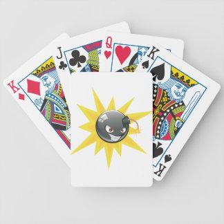 Evil Round Bomb 2 Poker Deck