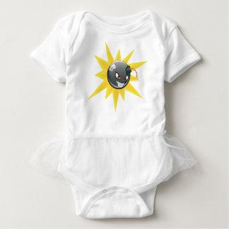 Evil Round Bomb Baby Bodysuit