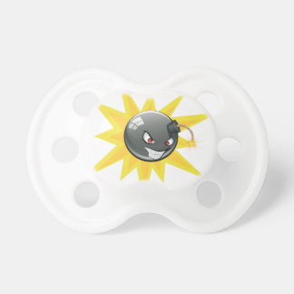 Evil Round Bomb Pacifier