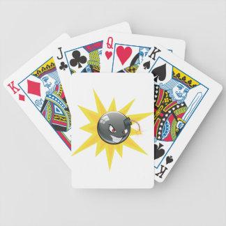 Evil Round Bomb Poker Deck