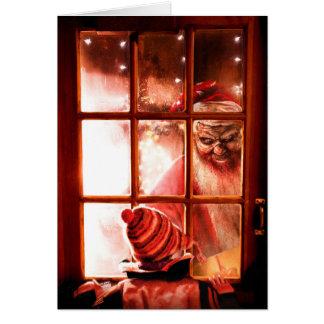 Evil Santa Card