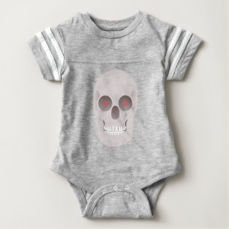 Evil Skull Baby Bodysuit
