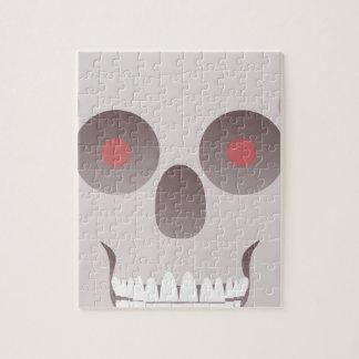Evil Skull Jigsaw Puzzle