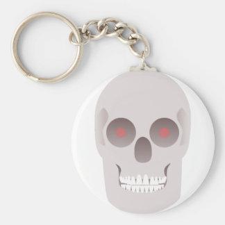 Evil Skull Keychain