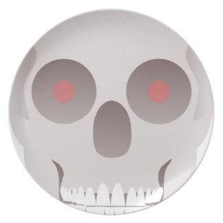 Evil Skull Plate