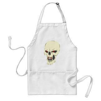 evil-skull standard apron